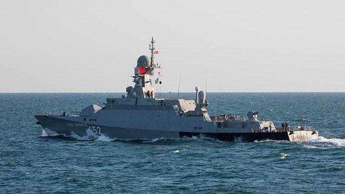 Корабли ВМФ РФ отразили удар «противника» на учениях «Центр-2019»