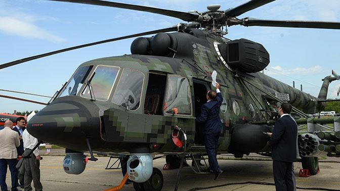 Ми-8АМТШ-ВН «Терминатор» получат оборонные комплексы