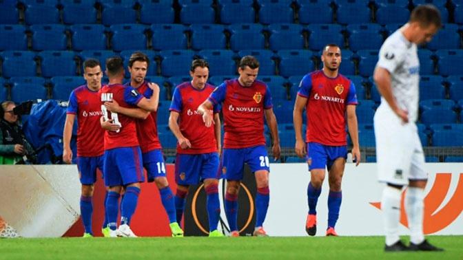 «Базель» разгромил «Краснодар» в Лиге Европы со счетом 5:0