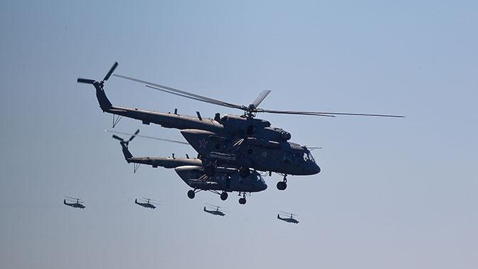 Минирование с воздуха проведут экипажи Ми-8 на учениях «Центр-2019»