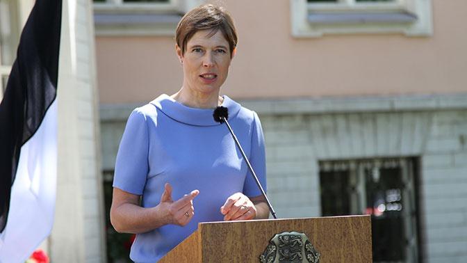 Президент Эстонии заявила об усталости Европы от Украины