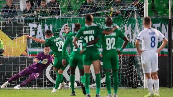 ЦСКА разгромно проиграл «Лудогорцу» в матче Лиги Европы