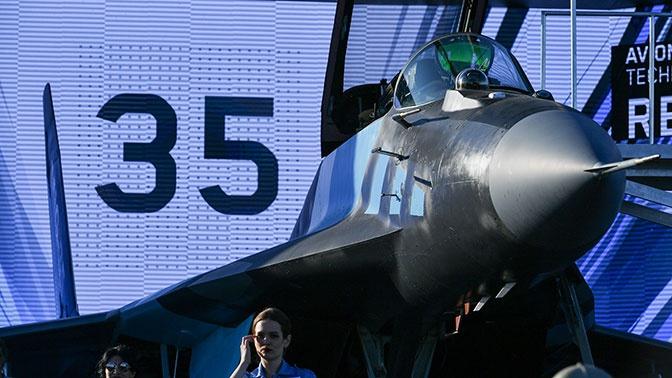 На пике формы: раскрыты характеристики новейшего истребителя МиГ-35