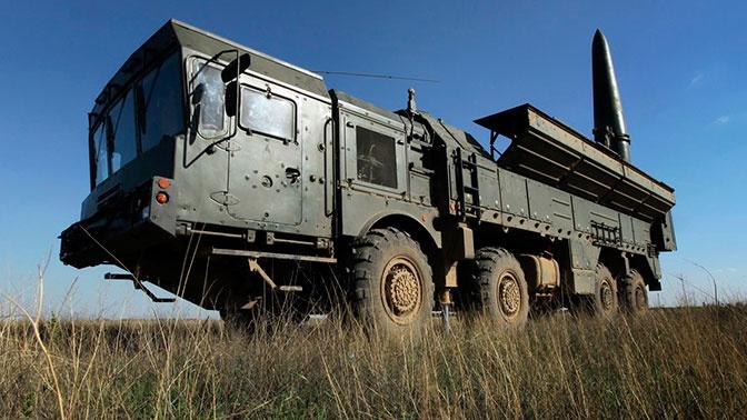 «Искандер-М» произвел боевой пуск ракеты на полигоне Донгуз