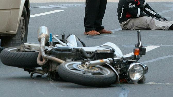 В РФ увеличилось количество аварий по вине мотоциклистов