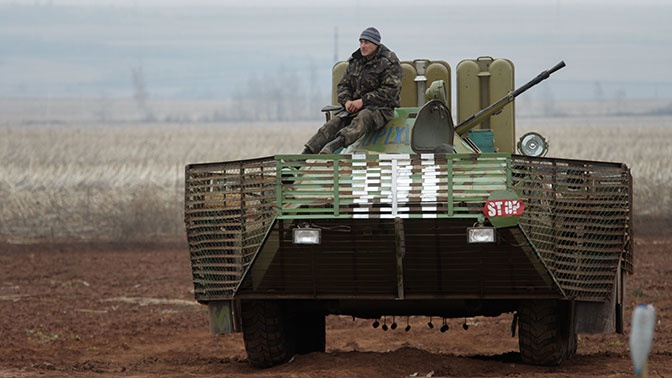 Глава МО Украины сообщил о работе над планом разведения сил и средств в Донбассе