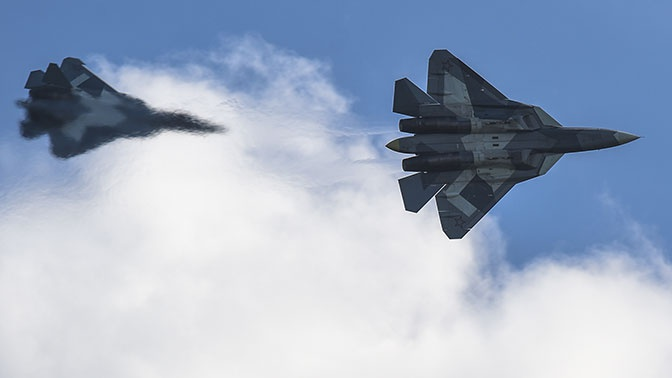 В России ведутся разработки истребителей шестого поколения