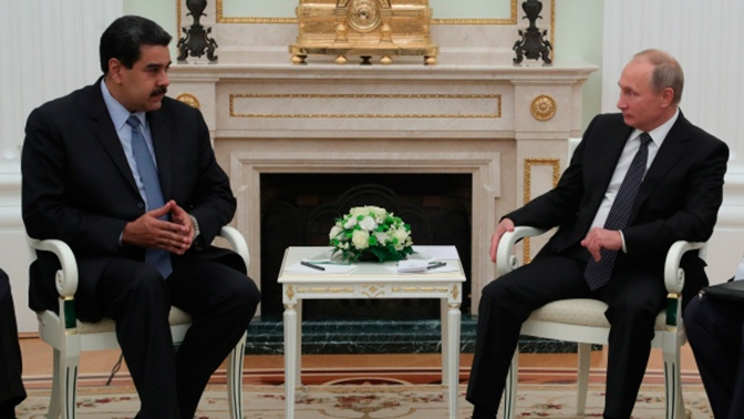 В Кремле началась встреча Путина и Мадуро