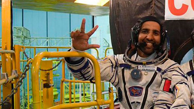 У первого арабского космонавта увеличилась голова после полета на МКС