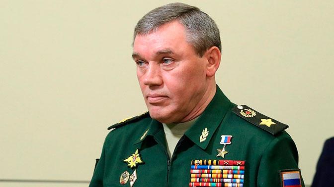 Начальник Генштаба РФ Герасимов провел переговоры с американским генералом Милли
