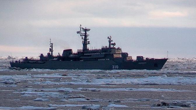 Учебный корабль «Перекоп» завершил переход по Северному морскому пути