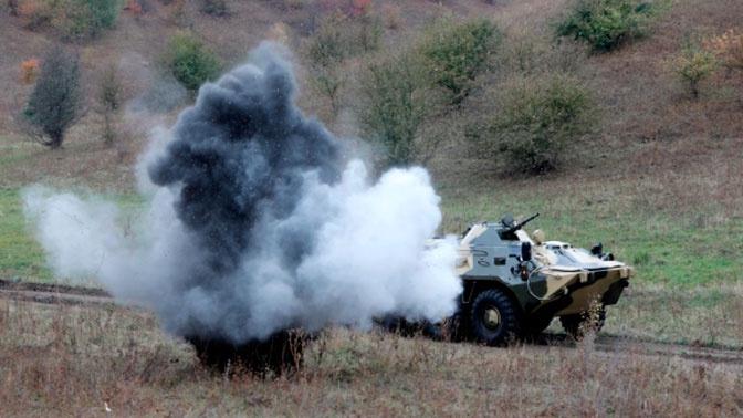 Стрельбы и вождение боевых машин: в войсках ЮВО началась итоговая проверка