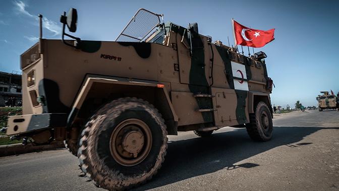 СМИ: турецкие войска начали пересекать границу с Сирией