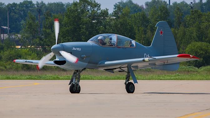 Як-152 успешно прошел испытания на прочность