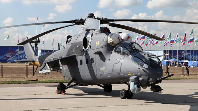 Нигерия получила от России партию вертолетов Ми-35М
