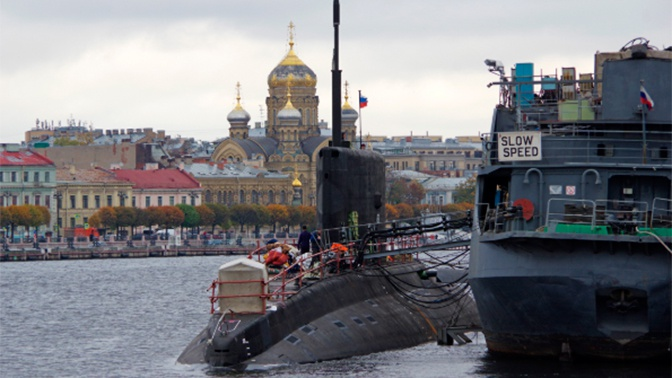Подлодка «Петропавловск-Камчатский» прошла морские испытания