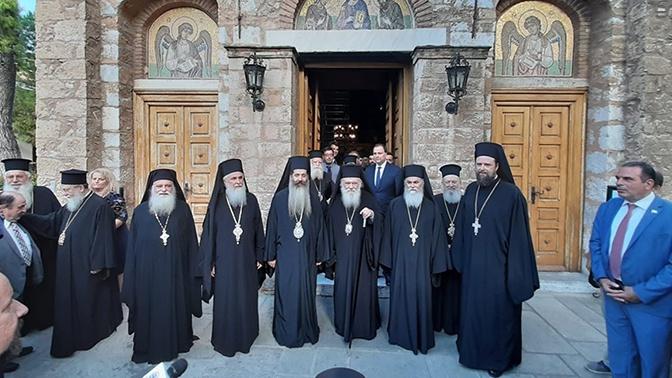 В РПЦ ответили на решение Элладской церкви признать ПЦУ