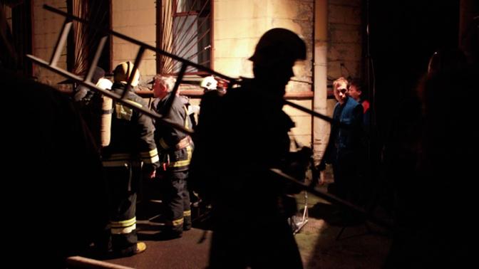 Сильный пожар в Подмосковье удалось потушить благодаря помощи подростков