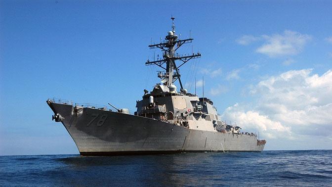 Названы цели входа эсминца ВМС США «Портер» в Черное море
