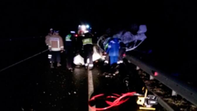 Пятеро погибших: на трассе под Каширой произошло ДТП