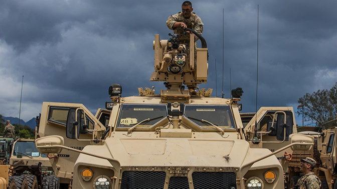 ГосТВ Сирии: США эвакуируют военную базу в провинции Ракка