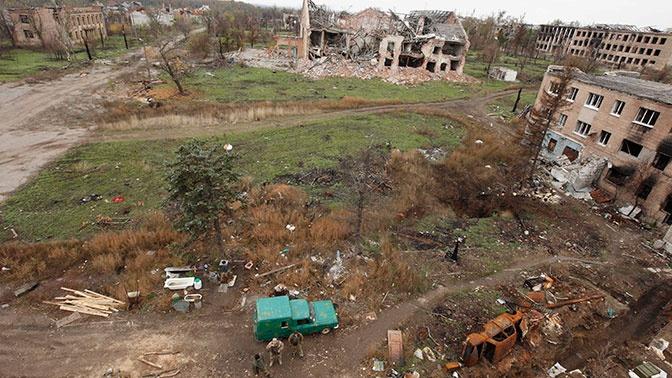 В Киеве признались в отсутствии средств на восстановление Донбасса