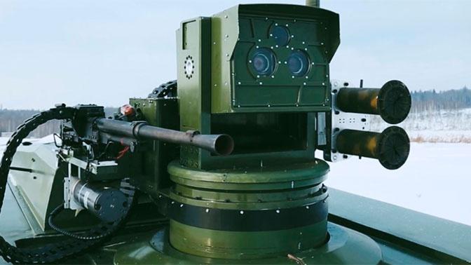 Боевой робот «Маркер» впервые предстал перед публикой