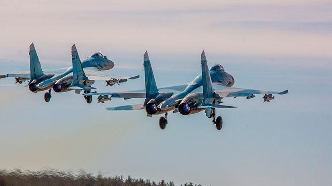 ВКС РФ 14 раз за неделю поднимались на перехват иностранных разведчиков