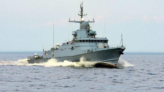 Новейший малый ракетный корабль «Советск» поступил на Балтфлот
