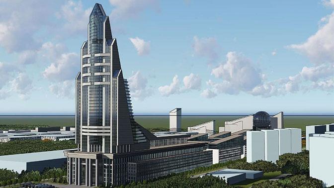 В Москве утвердили концепцию строительства Национального космического центра