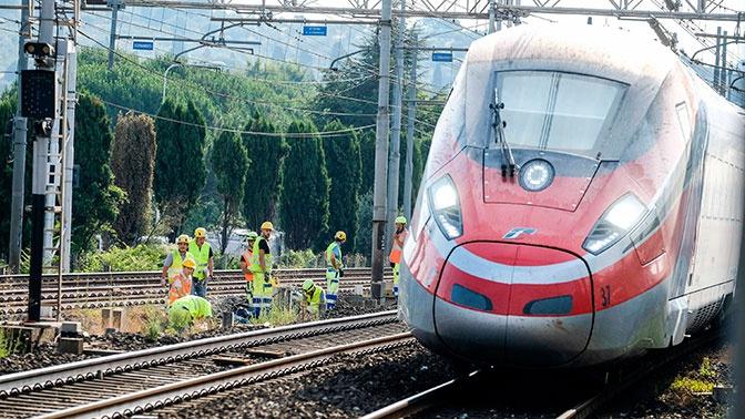 Во Флоренции туристы из Китая забыли ребенка в уехавшем в Рим поезде