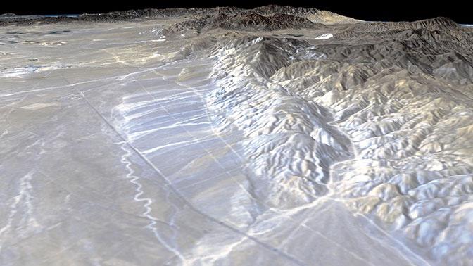 Крупный тектонический разлом активизировался впервые за 500 лет