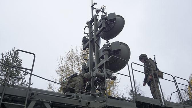 Более 500 связистов танковой армии ЗВО приняли участие в радиотренировке