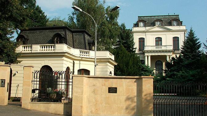В посольстве РФ в Чехии отвергли сообщения о раскрытой агентурной сети