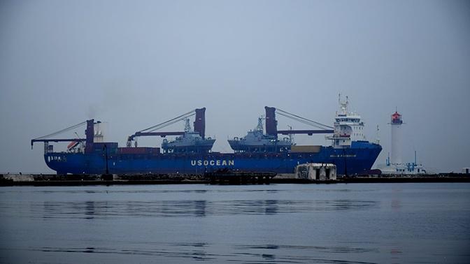 В Одессу прибыли американские катера