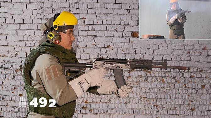 До разрыва ствола: АК-12 испытали безостановочной стрельбой