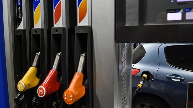В России упал спрос на бензин