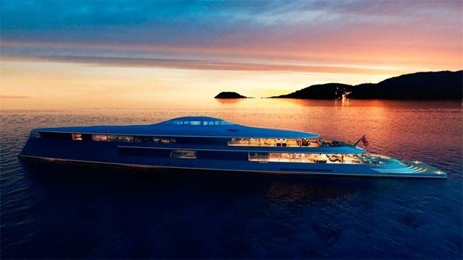 Опубликован дизайн первой в мире яхты на жидком водороде