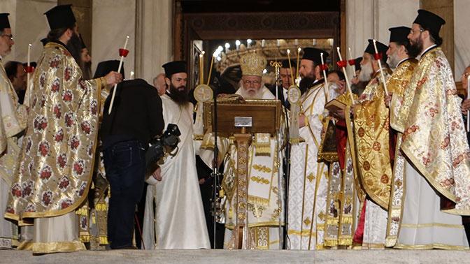 РПЦ прекращает общение с главой Элладской церкви