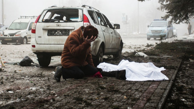 За пять лет войны в Донбассе погибли более 3,3 тыс. мирных жителей