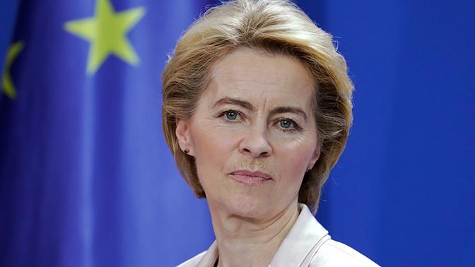 Урсула фон дер Ляйен призвала Европу выучить «язык силы»