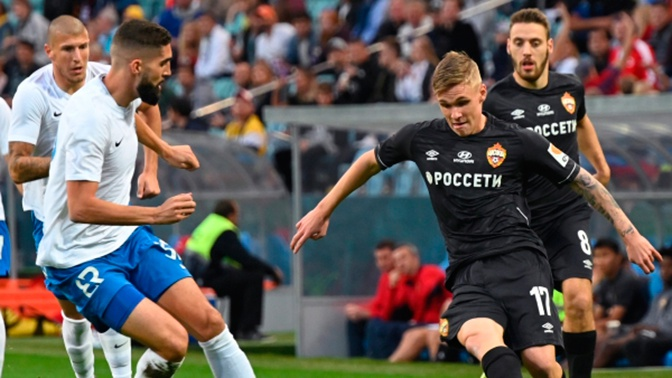 ЦСКА одержал волевую победу над «Сочи»