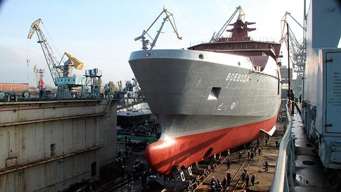 Головное судно обеспечения аварийно-спасательных работ «Воевода»<figcaption class=