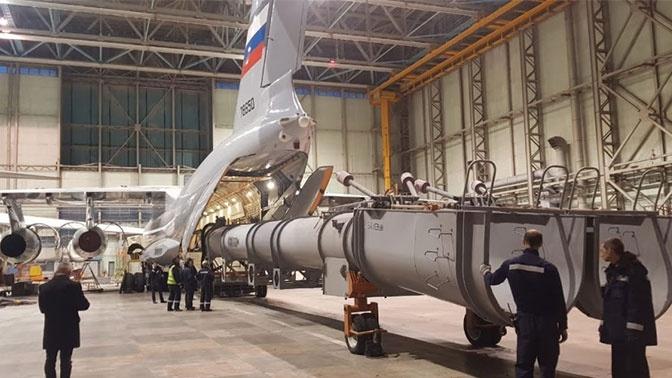 Завершены испытания летного образца транспортного самолета Ил-76МД-90А