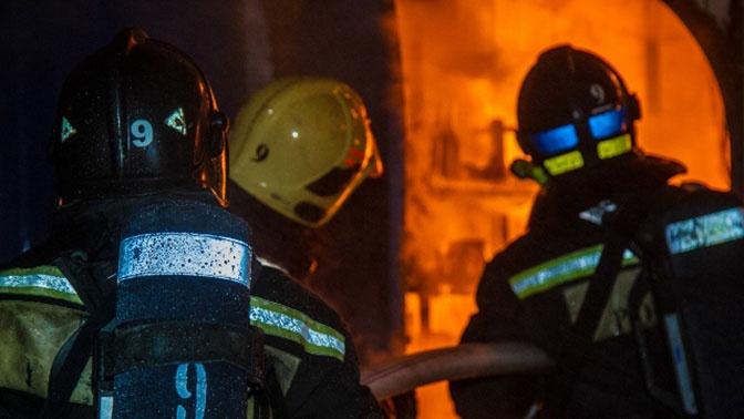 В Москве из горящего дома спасли 14 человек, включая двоих детей