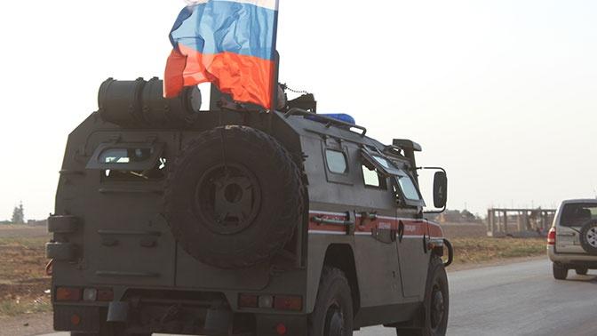 Россия и Турция проводят шестое совместное патрулирование в Сирии