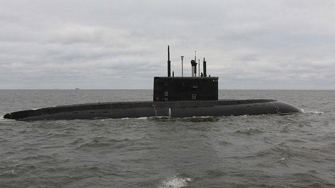 Подводная лодка Черноморского флота «Новороссийск» вышла в море
