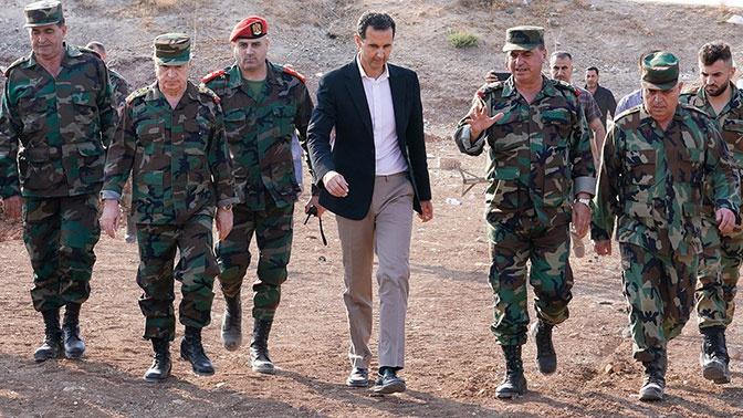 Асад отказался соглашаться на сепаратистские предложения