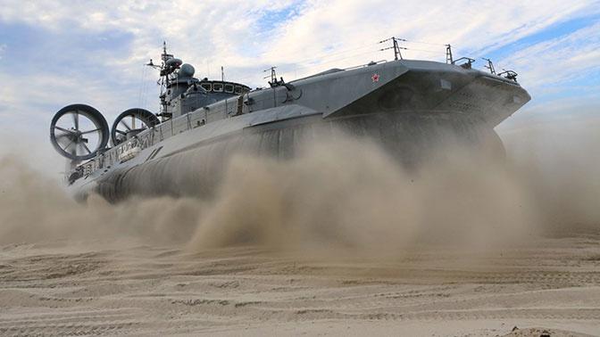 Десантный корабль на воздушной подушке «Мордовия» отправлен на ремонт