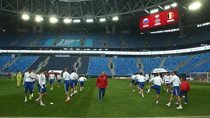 Объявлен состав сборной России на матч против Бельгии